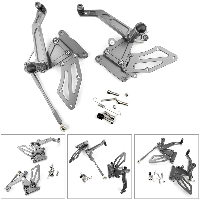 Adjustable CNC Rider Rearsets Footrest Pegs For BMW G310R 2016 2017 2018 Generic