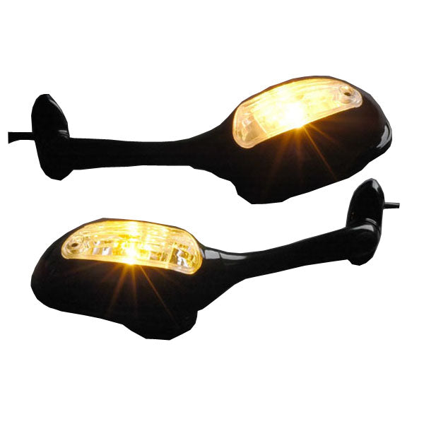 Mirrors Turn Signals For Suzuki GSXR 600 750 2006-2014 GSXR 1000 2005-2014 Generic