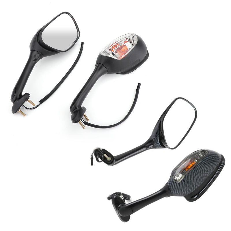 Mirrors Turn Signals For Suzuki GSXR 600 750 2006-2014 GSXR 1000 2005-2014