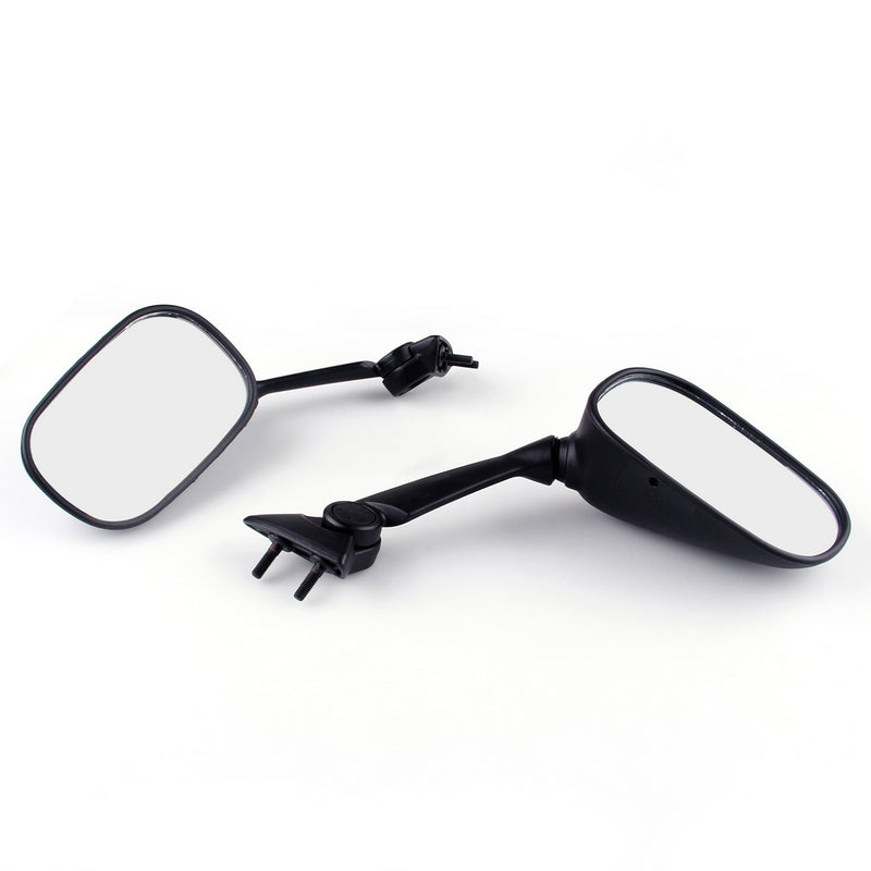 Racing Mirror Mirrors For Yamaha YZF R1 2009-2011 Black Generic