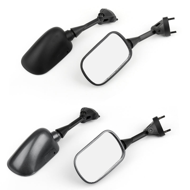 Side Rear View Mirrors For Kawasaki Ninja ZX6R 2005-2008 ZX 10R 2004-2008 Generic