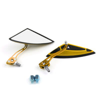 Motorcycle Scooter Side Rear View Mirrors Modification Mirror 8mm 1mm