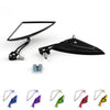 Motorcycle Scooter Side Rear View Mirrors Modification Mirror 8mm 10mm