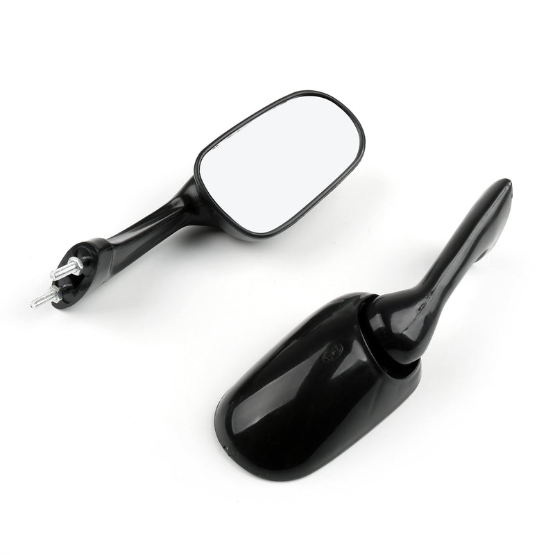 8mil1xPair Motor Rearview Mirror For HONDA CBR250 19/22 CBR400 23/29 NSR250 BK Generic