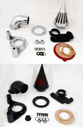 Spike Air Cleaner Intake Filter For Harley Dyna Touring models 2008-2012