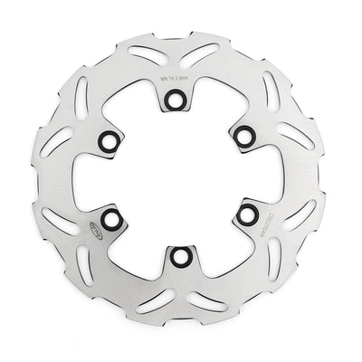 Rear Brake Disc Rotor For Kawasaki KDX KLX Suzuki DR 25 SB