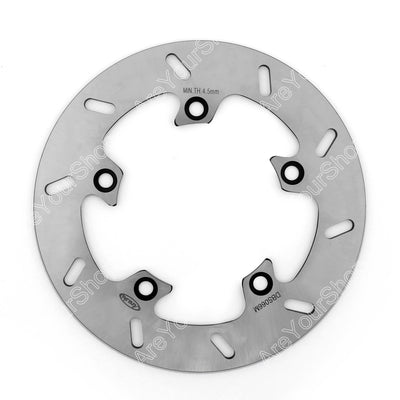 Rear Round Brake Disc Rotor For Suzuki GSR 400 750 GSF BANDIT 650 1200 1250 GSXF