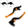 Generic Adjustable Folding Extendable Brake Clutch Levers For Suzuki GSXR1000 750 600