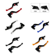 Adjustable Folding Extendable Brake Clutch Levers For Kawasaki ZX10RRRKRT
