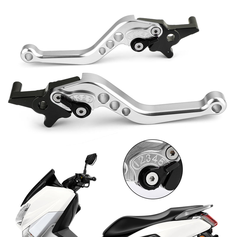 Left&Right Motorcycle Aluminum Brake Clutch Levers For NMAX 125/155 2015-2018 Generic