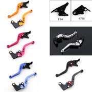 Brake Clutch Levers For Kawasaki ZX-6/ZZR600 ZX9R ZXR400 ZZR Z750S ER-5 ZR