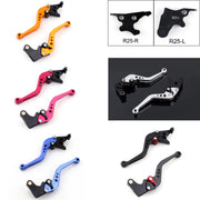 Short Brake Clutch Levers For Yamaha YZF R25 2014-2015/YZF R3 2015