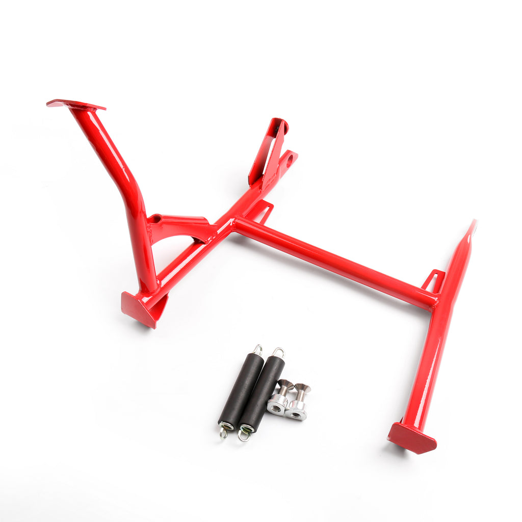 Center Kickstand Kick Stand Side Bracket Mount For BMW F800GS ADV 2008-2016 Red