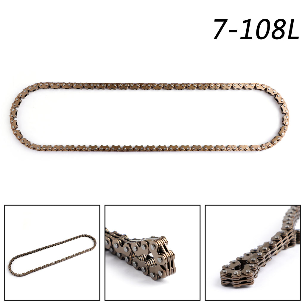 Timing Cam Chain 108L For Suzuki AN250 DR250 DR350 LTF400 LTF300 12760-19B71