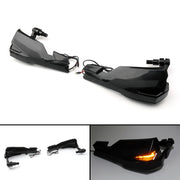 Handlebar Hand Guard Wind Protector w/ Turn Indicator Light For Yamaha MT 07 09