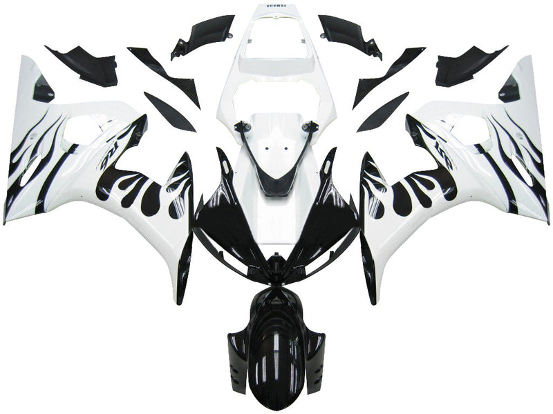 For YZF 600 R6 (2003-2005) Bodywork Fairing ABS Injection Molded Plastics Set 21 Color Generic