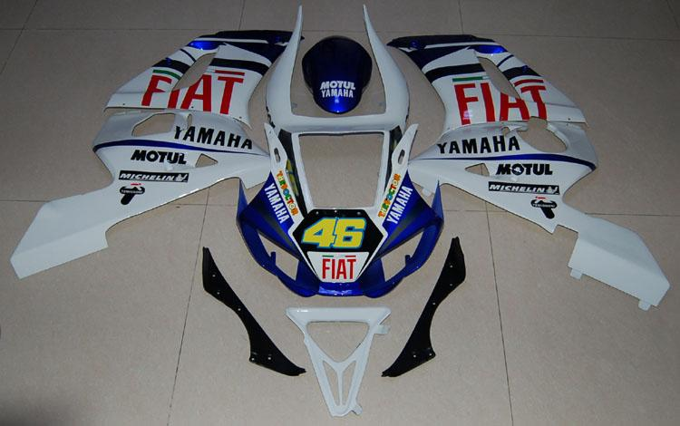 For YZF 600 R6 (1998-2002) Bodywork Fairing ABS Injection Molded Plastics Set 14 Color