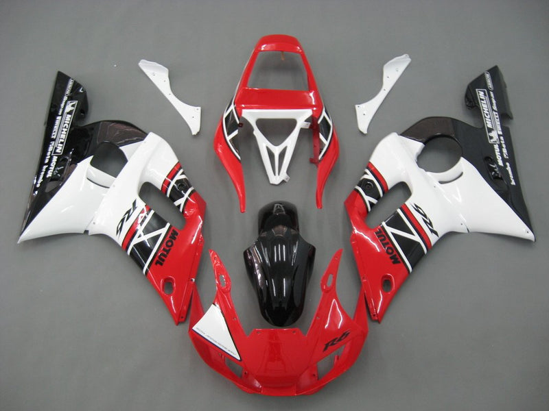 For YZF 600 R6 (1998-2002) Bodywork Fairing ABS Injection Molded Plastics Set 14 Color Generic