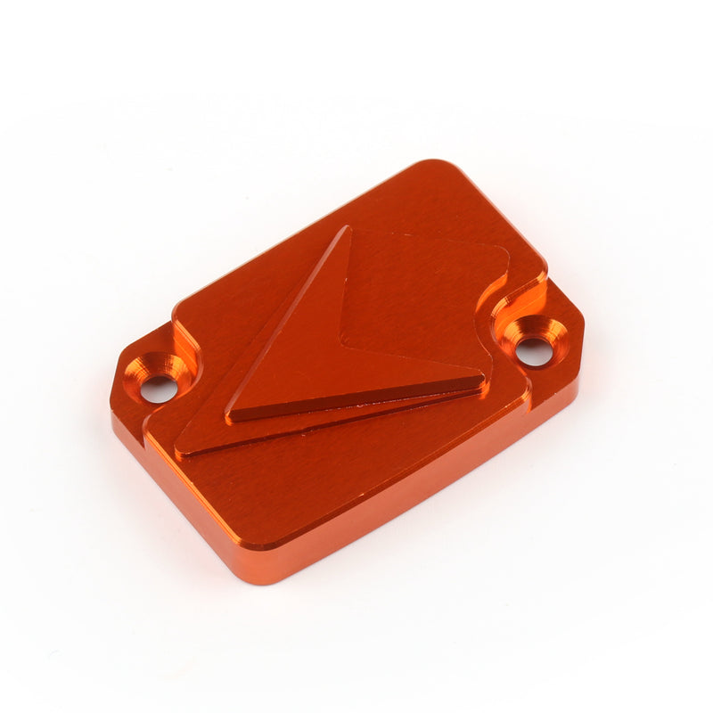 CNC Front Brake Master Cylinder Reservoir Cover For KTM 125 200 390 Duke Orange Generic
