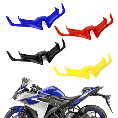 Motorcycle Front Panel Winglet Fairing For YAMAHA YZF-R15 V3.0 2017-2019