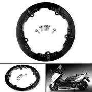 CNC Aluminum Transmission Belt Pulley Cover For yamaha TMAX 530 SX DX 2017 BK
