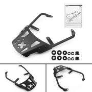 Motorcycle Sissy Bar Luggage Rack Carrier Plate For Kawasaki Versys 65 1-14