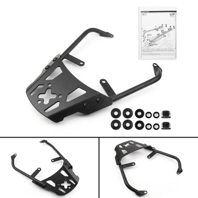Motorcycle Sissy Bar Luggage Rack Carrier Plate For Kawasaki Versys 650 10-14