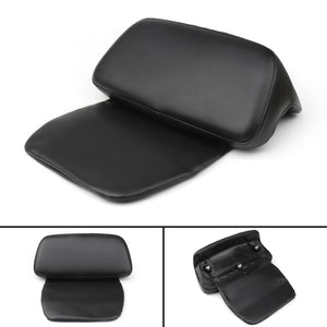 Black Chopped Tour-Pak Backrest Pad For Street Glide Road King 214-218 17