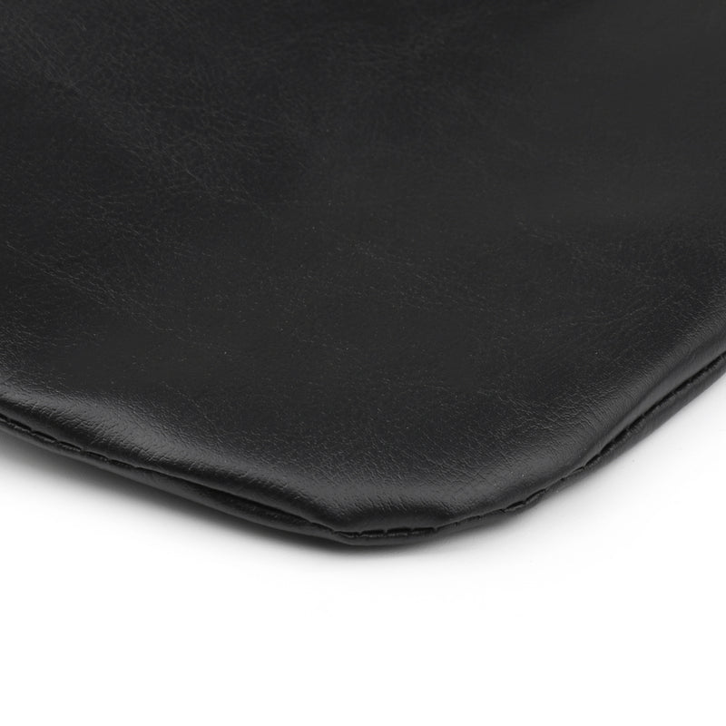 Black Chopped Tour-Pak Backrest Pad For Street Glide Road King 2014-2018 17 Generic