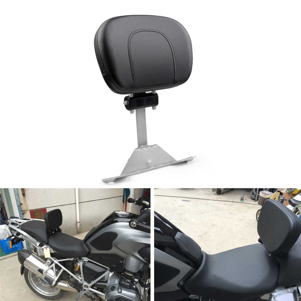 Front Driver Seat Rider Backrest Pad For 213-216 BMW R12GS ADV