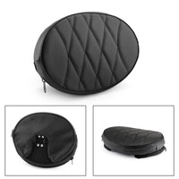 Motorcycle Driver Backrest Cushion Pad For Touring Road King Street Glide