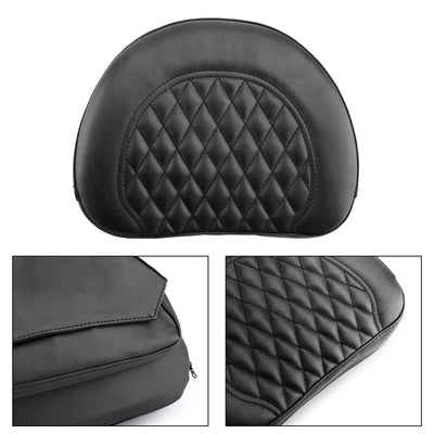 Driver Rider Backrest Cushion Pad For Touring Road Gilde FLTR Road King