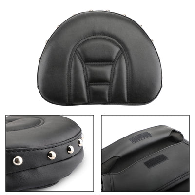 Driver Rider Sissy Bar Backrest Cushion Pad For Touring Road Gilde FLTR