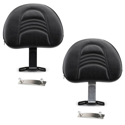 Motorcycle Driver Rider Backrest Kit For Fatboy Heritage Softail Models 2007-17