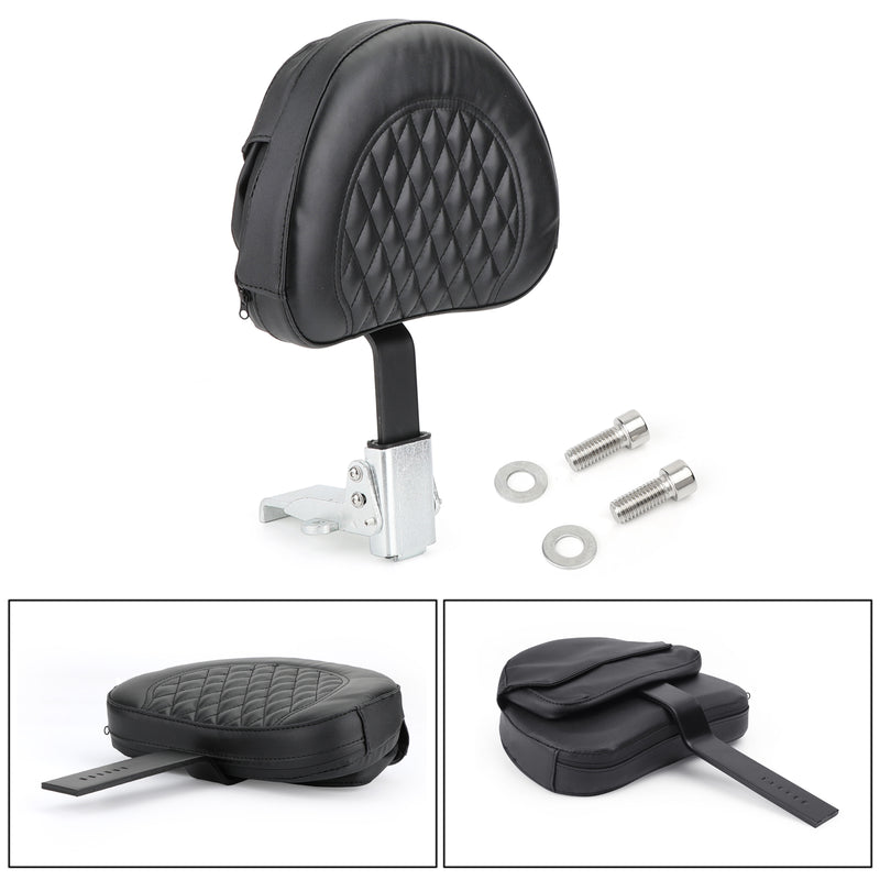 Driver Backrest For Victory High Ball Vision Tour Road King FLHR FLHRC 10-19 Generic
