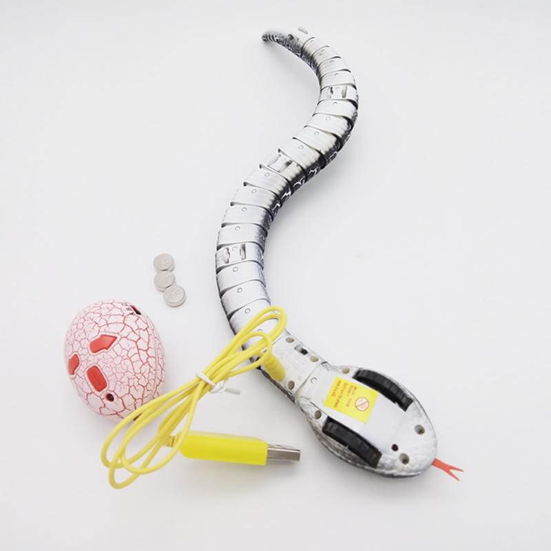 RC Snake Rattlesnake Animal Trick Terrifying Mischief Random Remote Control