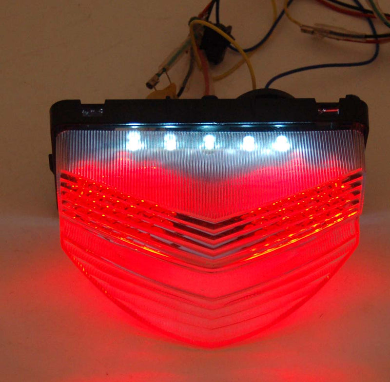 Integrated LED TailLight For Honda CBR 600 F4i (01-2003) 2 Color Generic