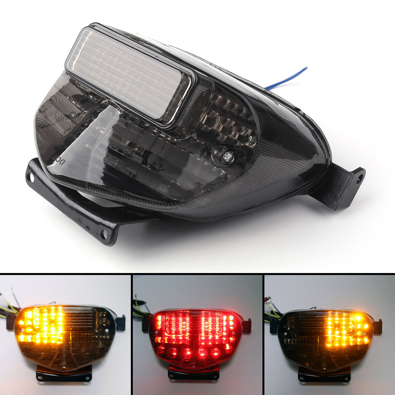 Integrated LED TailLight For Suzuki GSXR 600/750 (00-03) GSXR1000 (01-02) 2 Color Generic