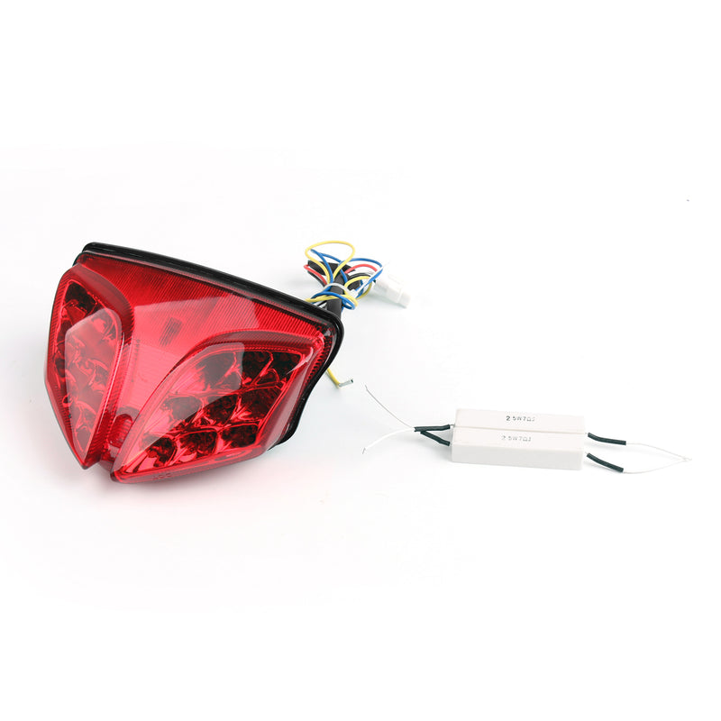 Integrated LED TailLight For Suzuki GSXR 600/750 08-11 GSXR1000 (09-12) 3 Color Generic