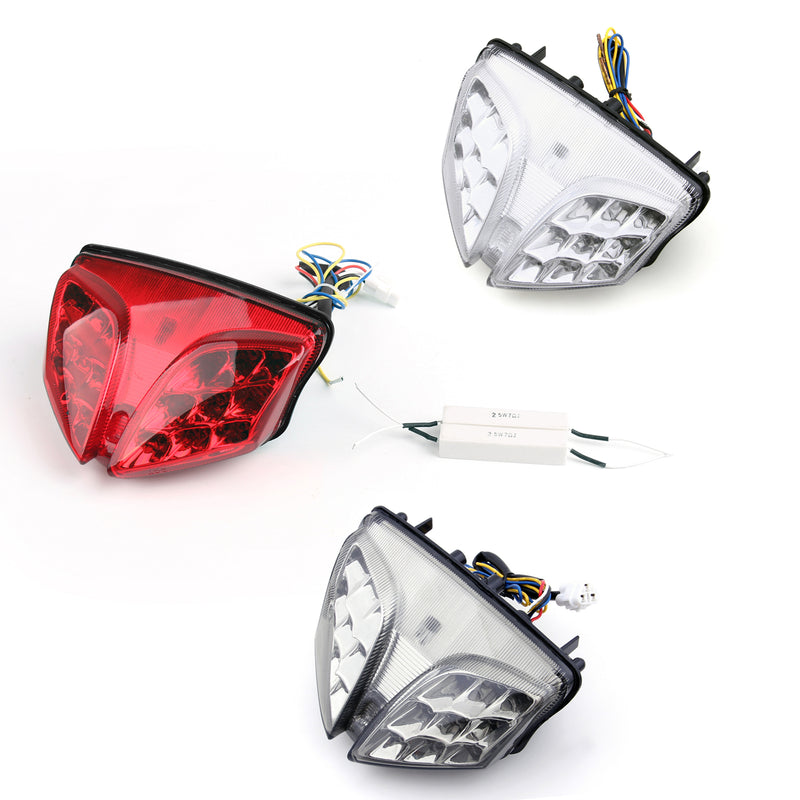 Integrated LED TailLight For Suzuki GSXR 600/750 08-11 GSXR1000 (09-12) 3 Color