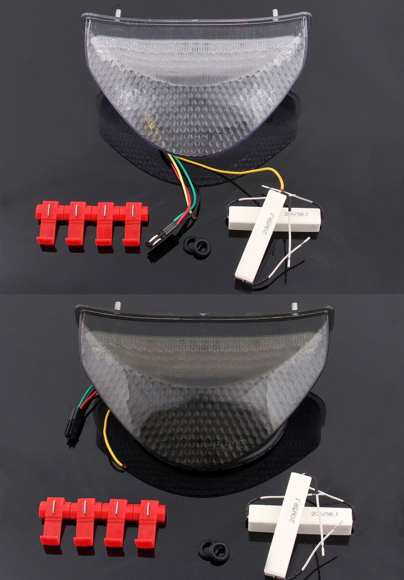 LED Taillight integrated Turn Signals For Honda CB600F Hornet (06-2010) 2 Color