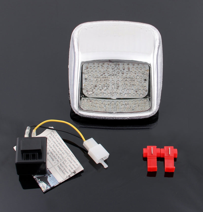 Smoke LED Taillight integrated Turn Signals Fit For Harley Deuce All Year