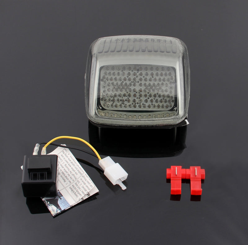 LED Taillight integrated Turn Signals For Harley Deuce All Year, 2 Color Generic