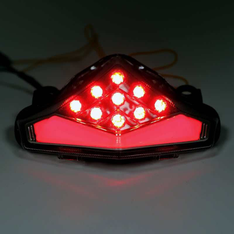 Integrated LED TailLight Turn Signals For Kawasaki ER-6 N/F (12-2014) 2 Color Generic