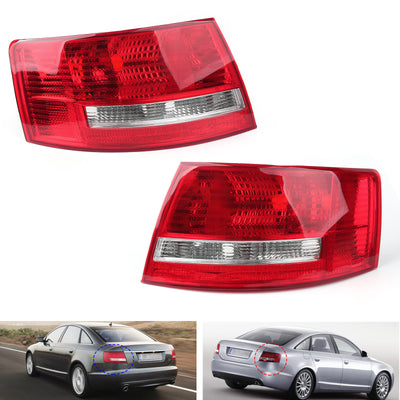 OEM Tail Light Cover Left Driver'S Side For 5-8 Quattro Audi A6 S6 C6