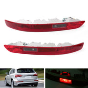 Left/Right Lower Tail light Lamp Rear Reverse Bumper Light For Audi Q5 (2009-2015)