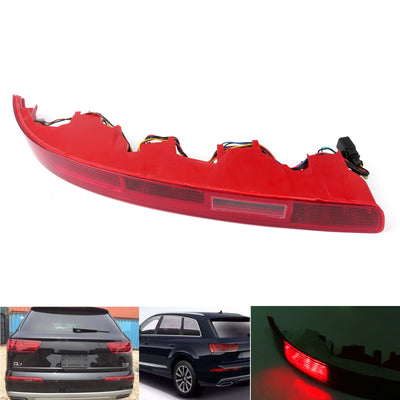 Rear Left Bumper Red Tail Light Reverse Fog Light Lamp Fit For Audi Q7 26-215