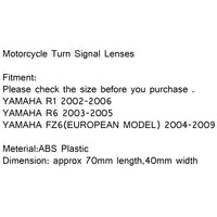 Front Turn Signal Lens For Yamaha R1/R6/FZ6 2004-2009(EURO)