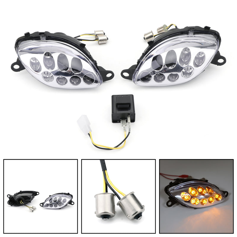 Front Turn Signals For Suzuki Hayabusa GSXR1300 (1999-2007) 2 Color