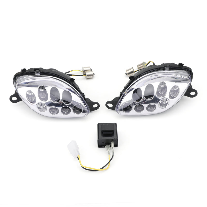 Front Turn Signals For Suzuki Hayabusa GSXR1300 (1999-2007) 2 Color Generic